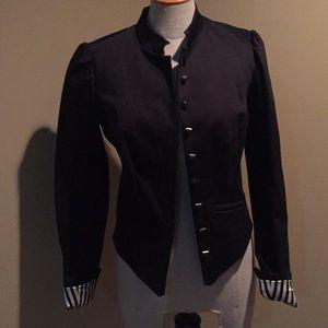 Betsy Johnson black blazer
